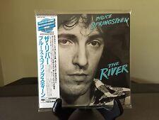 BRUCE SPRINGSTEEN- The River, Japan MINI LP 2 CD, OBI, MHCP-725~6, OOP, Pristine