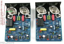 (2 channel) Assembled QUAD405 CLONE AMP Board With MJ15024 +Angle Aluminum