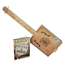 Il ELECTRIC BLUES BOX Slide Chitarra crea la tua Cigar Box GUITAR KIT SCATOLA REGALO