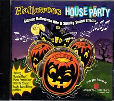 American Greetings HALLOWEEN HOUSE PARTY: CLASSIC HITS & SPOOKY SOUND EFFECTS CD