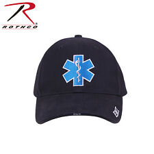 Rothco 99381 Deluxe Star of Life Low Profile Cap - Navy Blue