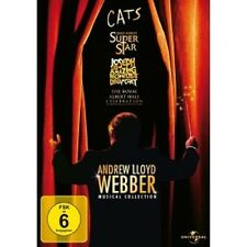 ANDREW LLOYD WEBBER-MUSICAL COLLECTION 4 DVD NEU ELAINE PAIGE,SIR JOHN MILLS