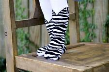 ITTY BITTY ZEBRA PRINT BOOT TIGHTS BOOTZIES FOR YOUR BABY COWGIRL SZ 0-6 MOS