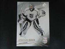 2015-16 SP Authentic Base Card #37 Jonathan Quick Los Angeles Kings