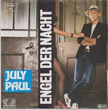 "7"" July Paul Engel der Nacht / Splitternackt 80`s Jupiter"