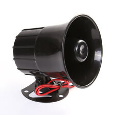12V 15W Car Truck Air Electric Siren Horn Speaker Auto Van PA Loud Sound Alarm