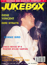 JUKEBOX MAGAZINE 27 Gene Vincent, Dire Straits, Ronnie Bird, Country Joe, Psych.
