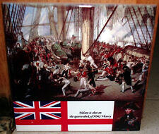 Lord Nelson shot at HMS Victory Battle Trafalgar ~Napoleonic Wars~CERAMIC TILE