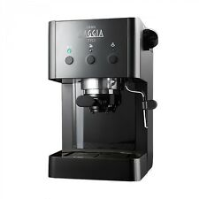 Gaggia Gran Style | Manual Espresso Coffee Machine, 15 Bar Pressure - Black