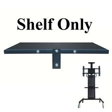 """Adjustable Shelf Tray For Mobile TV Stand Trolley For 32-60"""" LED/Plasma/LCD TV"""