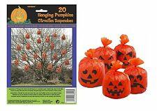 Pumpkin Leaf Bags Hanging Pack of 20 Decorations Outdoor Indoor Halloween Party