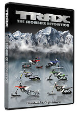 Trax Vol 2: The Snowbike Revolution - Snowmobile DVD Movie Video New 2016