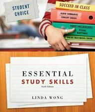 Essential Study Skills by Wong, Linda, Acceptable Book