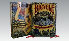 1 Deck Bicycle Everyday Zombies Standard Poker Playing Cards Sealed New In Box