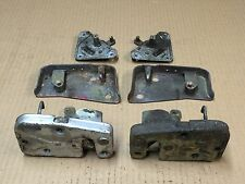 MG MIDGET (67-80) DOOR LOCK MECHANISM STRIKER & REMOTE, L&R PAIR, WILMOT BREEDEN