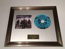 SIGNED/AUTOGRAPHED BLACKBERRY SMOKE - LEAVE A SCAR LIVE CD FRAMED PRESENTATION.