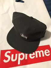 NWT Stussy SMooth Stock Twill Cap Snapback Supreme Hat Dead Stock
