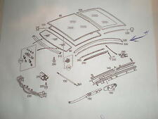 Mercedes~ C230 Kompressor Coupe 02-06~ Panoramic Roof,right side