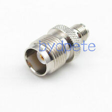 TNC female jack to SMA female Straight RF connector Adapter for Antenna Router