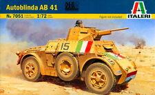 Italeri 1/72 7051 WWII Italian Pz.Autoblinda AB 41 Armoured Car