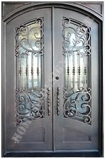 wrought Iron Entry Doors , Doors with iron works,