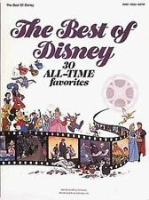 The Best Of Disney. Partitions pour Piano, Chant et Guitare(Boîtes d'Accord) by