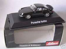 RARE SCHUCO PORSCHE 911 993 TURBO BLACK 1:43 MINT LIMITED EDITION 1 OF 1,000