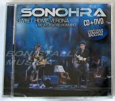 SONOHRA - SWEET HOME VERONA LIVE AT TEATRO ROMANO - CD + DVD Sigillato