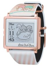 Little Twin Stars EPSON Wrist watch Smart Canvas SANRIO from JAPAN Fast Shipping