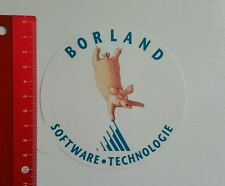 Pegatina/sticker: borland software tecnología (18051610)