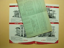 CATALOGUE MGF 1965 EN 8 COPIES COULEURS A4 GARAGE VROOM ACCESSOIRES