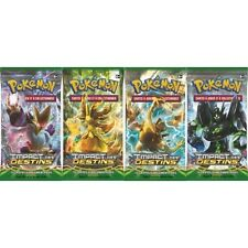 BOOSTER POKEMON - IMPACT DES DESTINS - NEUF FR - CARTE POKEMON - LOT DE 4 PQTS