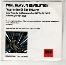 (EN305) Pure Reason Revolution, Apprentice Of The Universe - 2006 DJ CD