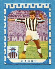CALCIATORI NANNINA 1961-62 -Figurina-Sticker - SACCO - JUVENTUS -New