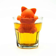 Le Chat Infuseur Infusion Thé Filtre Boule Chats Tea Cat Silicone Neuf