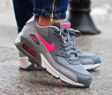 Nike 724855-007 Air Max 90 Pink Leather Running Shoes Womens Size 8 YOUTH 6.5