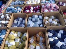 50 X 25g Balls Of 100% Acrylic Like Double Knit Wool Art Of Crochet / Knitting