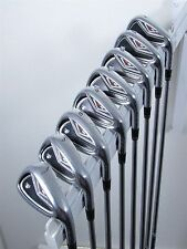 TaylorMade Golf R9 TP Iron Set 4-PW, AW Project X 6.0 Stiff Flex Steel Shafts