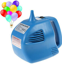 Blue Single Nozzle Balloon Inflator 400W Electric Balloon Pump for Aeration