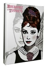 Breakfast at Tiffanys Audrey Hepburn Hard Cover Journal  6 by 8-Inches 160 Pages