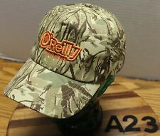 VERY NICE O'REILLY AUTO PARTS HAT CAMO STRAPBACK ADJUSTABLE EXCELLENT COND A23