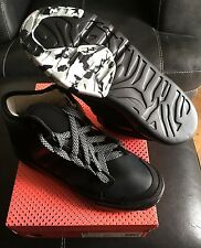 Adidas Stellasport Irana Hi Top Trainers UK Size 5 Black Stella McCartney