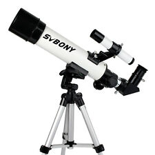 420/60mm Astronomical Refractor Telescope w/ CellPhone Mount Adapter Kids Toy