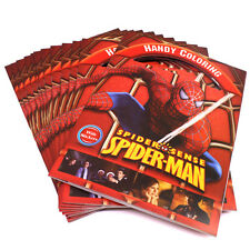 Marvel Spider Man Super Hero Colouring Book With Sticker& Handy Writing Game