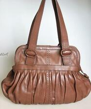 Cole Haan Village Soft Pebble Leather Pleated Shoulder Handbag