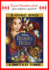 Beauty and the Beast (DVD, 2010, 2-Disc Set, Diamond Edition) English & French