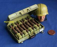 DRAGON 1:6 WWII GERMAN ARMY M24 GRENADE + CASE MODEL DA_71161C