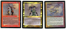 MTG Foil Skyship Weatherlight + Tahngarth, Talruum Hero + Ertai, the Corrupted