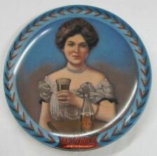 Dr. Pepper Girl Plate  - Nostalgia and shy Charm 1983 Certified Limited Edition