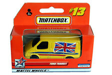 1999 Matchbox Union Jacks Ford Transit #13